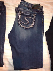 Size 31 Silvers in amazing condition