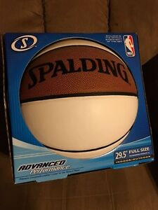 Blank Autograph Basketball (New/mint condition)