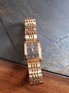Men's gold citizen watch