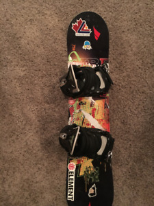Kids Firefly Snowboard Bindings and Boots