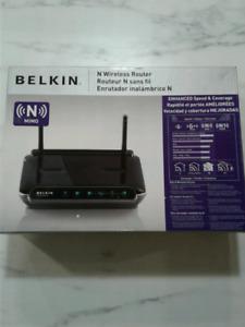 Belkin N wireless router