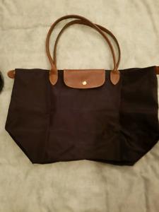 Purple Large Longchamps Bag