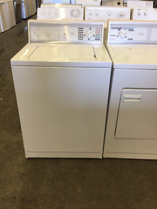 *Beautiful White Kenmore Washer and Dryer Set (Front Load/TL)*
