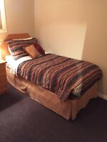 Queen & two twin bed sets for sale