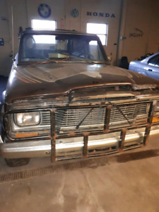 1979 jeep Cherokee golden eagle project