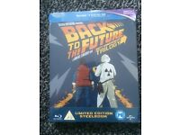 Back to the Future Trilogy Blu ray steelbook sealed