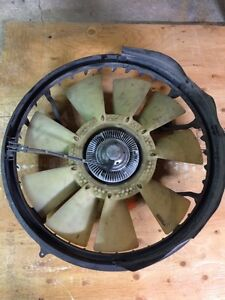 Ford clutch fan
