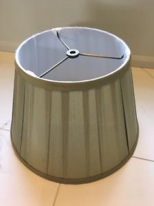 Vintage RESTORATION HARDWARE Box Pleat Lamp Shade
