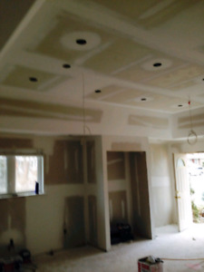 DRYWALL TAPING/STUCCO REMOVAL/SMOOTH CEILING/INSTALLATION