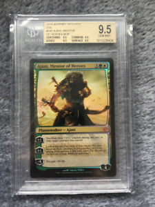 Magic the Gathering: Foil Ajani, Mentor of heroes, BGS 9.5 Mint