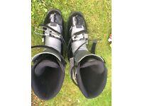 Ski boots Scarpa size 10uk