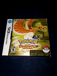 NINTENDO DS HEARTGOLD CIB WITH POKEWALKER COMPLETE