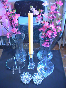 Vases, Candle Holders and Oil Lamp Sale (from just $2)