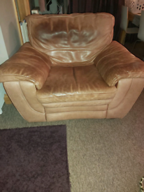 Leather Armchair free to collector
