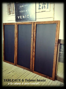 Chalkboards, mirrors and more :)