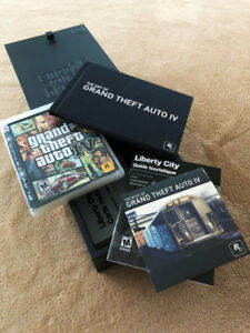 Grand Theft Auto IV Limited Edition (PS3) - $60 OBO