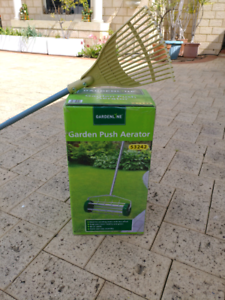 Garden rake and aerator Halls Head Mandurah Area Preview