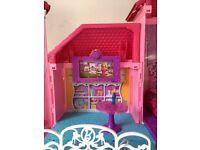Barbie mansion house