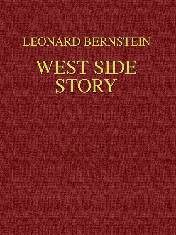 West Side Story Broadway Musical Full Score for Vocal Orchestra Sheet Music Book