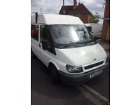 Ford transit 260 2005 swb medium top 2.0 td