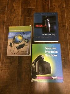 Radio and Television Text Books
