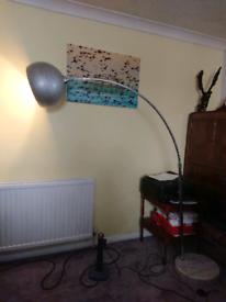 Elegant large, solid marble base, 'Made' lamp £160 new free led