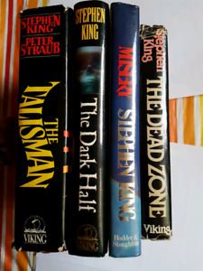4 Stephen King hardcovers