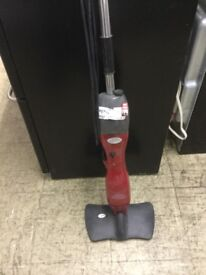 Small red steam mop