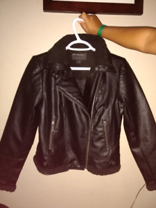 Faux Leather Jacket 14/16