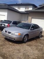 2002 Grand Am GT $2000obo 190000km Mint Cond. Sask Plated