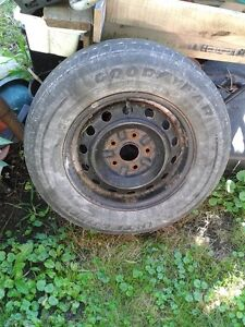 1992 Toyota Camry Rim and Tire