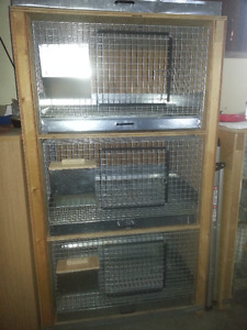 Rabbit cages with stand