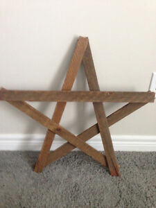 Decorative wood stars London Ontario image 1