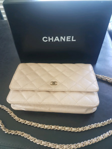 Authentic chanel purse used