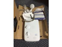 Used Triton 8.5kW electric shower