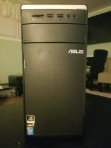 Asus desktop computer i5 12 gigs ram TB hard drive