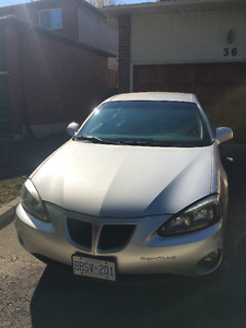 2006 Pontiac Grand Prix Sedan - 90k km, w/ Winter Tires - AS IS