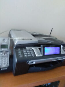 BROTHER PRINTER/SCANNER/ FAX MACHINE/ PHONE- ALL IN ONE