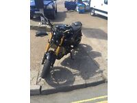 Yamaha street fighter fazer fx8 2014 7k miles mot exchange considered