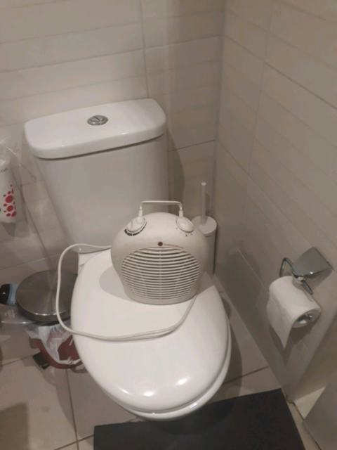 Small Heater Ideal For Bathroom In Brunswick Air Conditioning