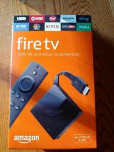 Amazon Fire TV latest model. BNIB with warranty! Bonus FREE SLING TV!