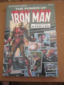 The Power of Iron Man - OOP TPB - Marvel 120 - 128 Michelinie