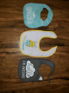 Baby bibs. Excellent condition