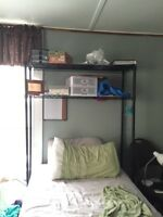Twin bed shelving NEED GONE