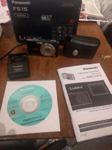 Panasonic Lumix 12MP Digital Camera with 2GB SD Card