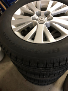 Mazda Winter Wheels and Tires 225/65/R17