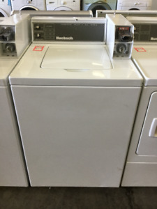 Huebsch White Top Load Washer Coin Laundry