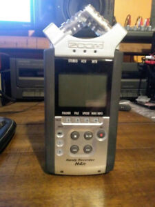 Zoom H4n Handy Recorder - 4ch recorder