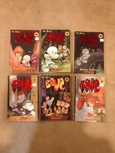 BONE-Comic book saga-SCHOLASTIC books