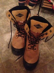 Women size 8 steel toe shoes
